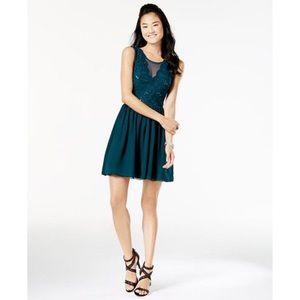 🆕 Speechless • Sequen Lace Chiffon Dress